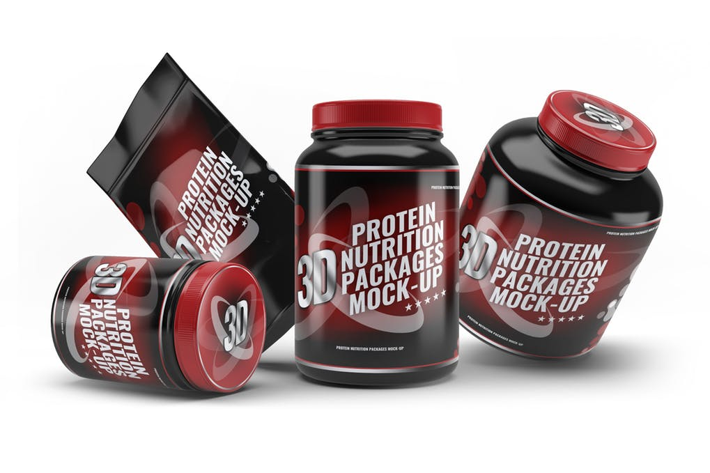 Sport Nutrition Packages Mock-Up