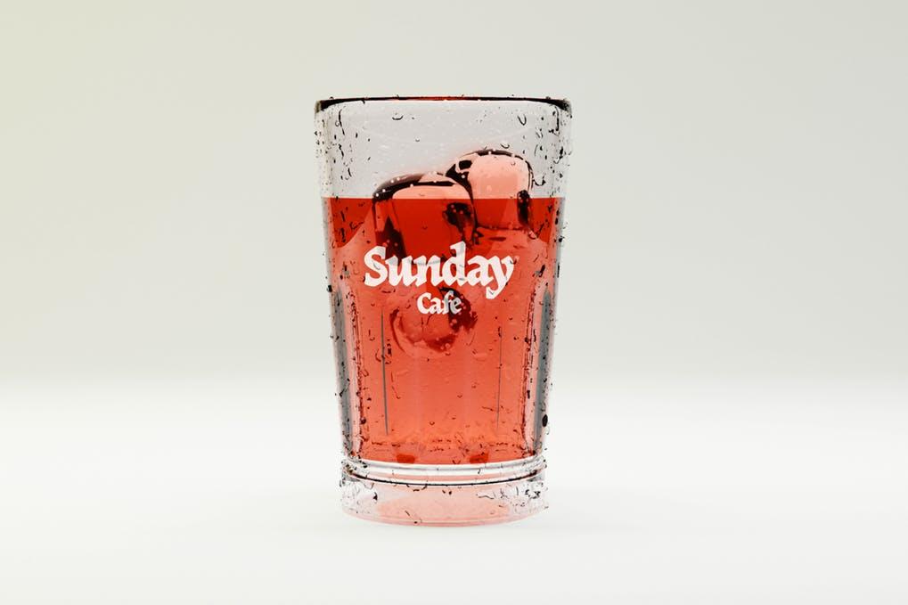 Transparent Glass Mockup