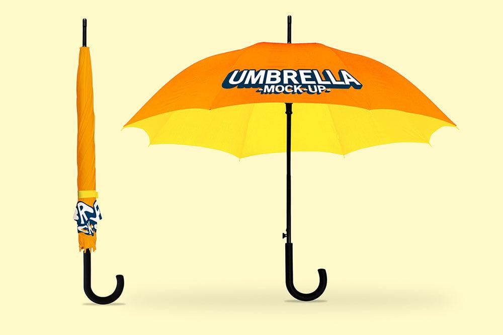 Best Umbrella Mockup PSD Templates