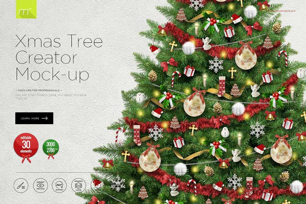 Christmas Tree Creator Mock-up