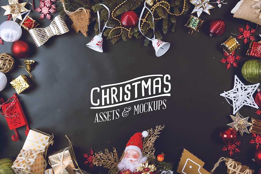 Christmas Mockup PSD Templates
