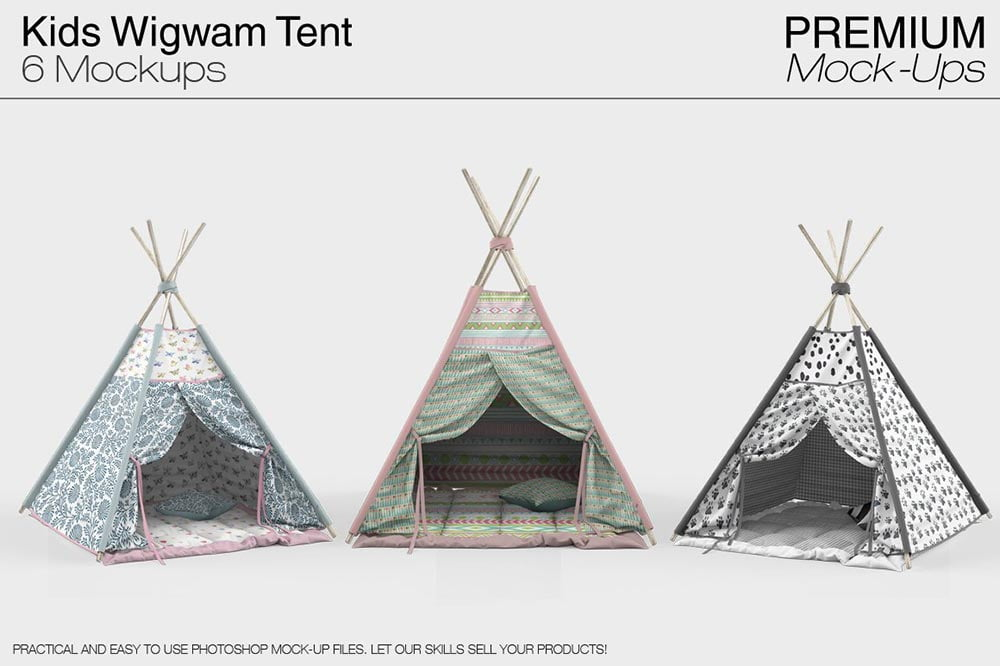 Kids Wigwam Tent Pack