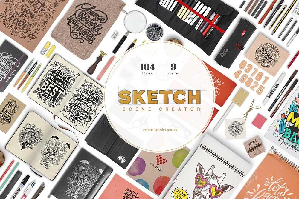 Sketch Scene Creator Bundle