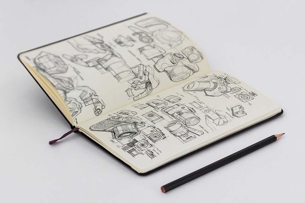 Sketchbook Mockup PSD Templates