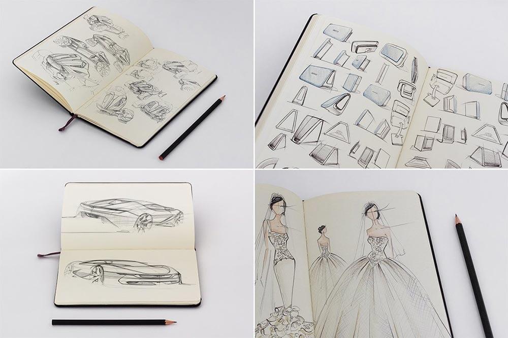 Sketchbook Mockups