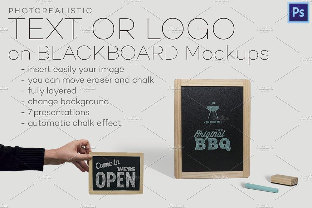 Blackboard Mockups