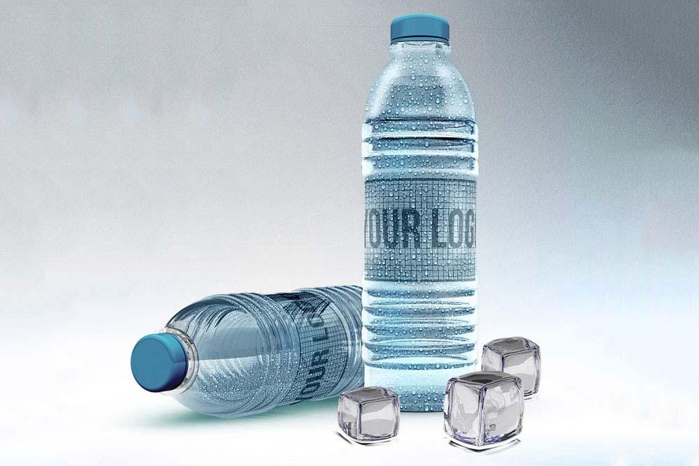 Water Bottle Mockup PSD Templates