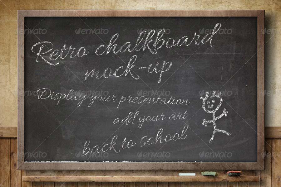 ChalkBoard Mock-Up