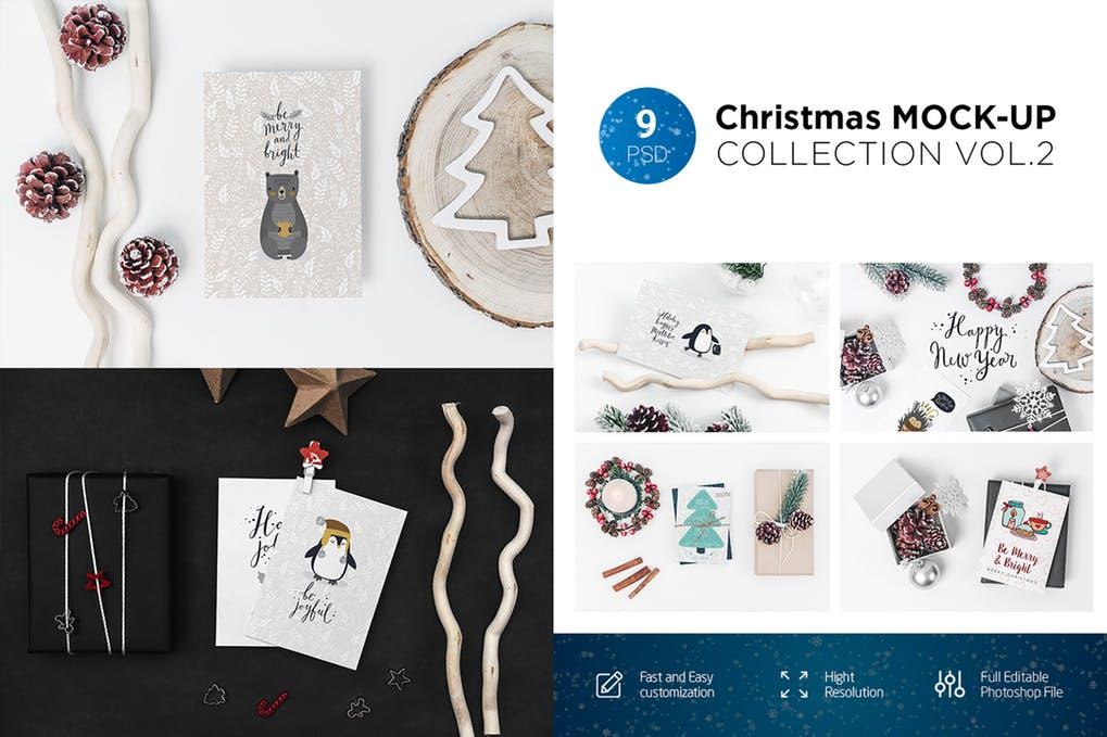 Christmas Mock-Up Collection