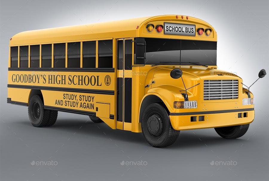 School Bus Mock-Up