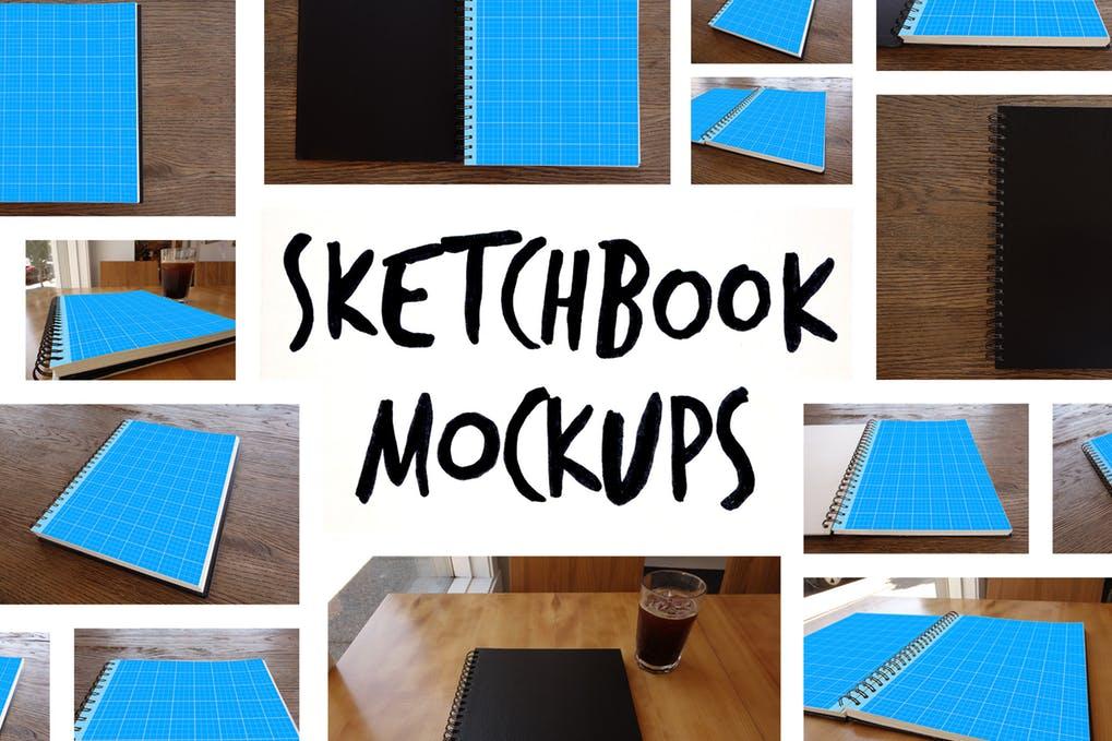 15 Sketchbook Mockups