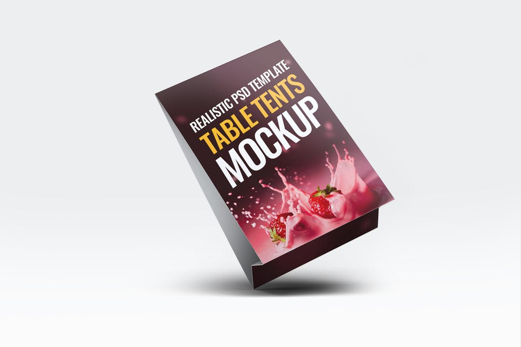 Table Tents Mock-Up
