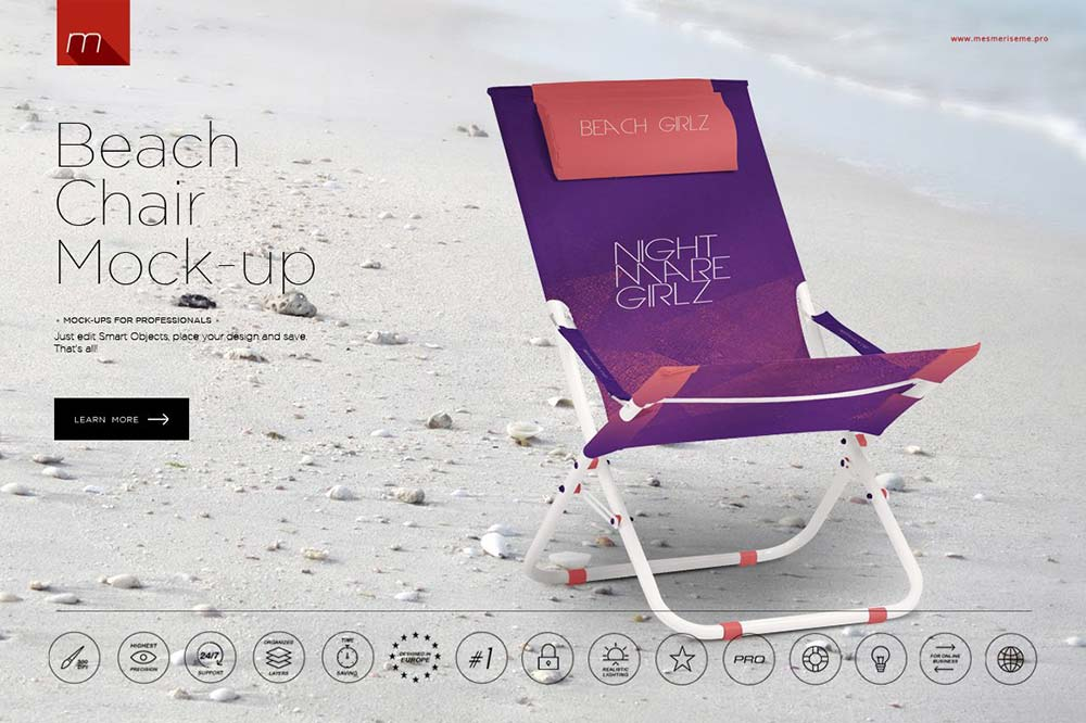 Beach Chair Mock-up