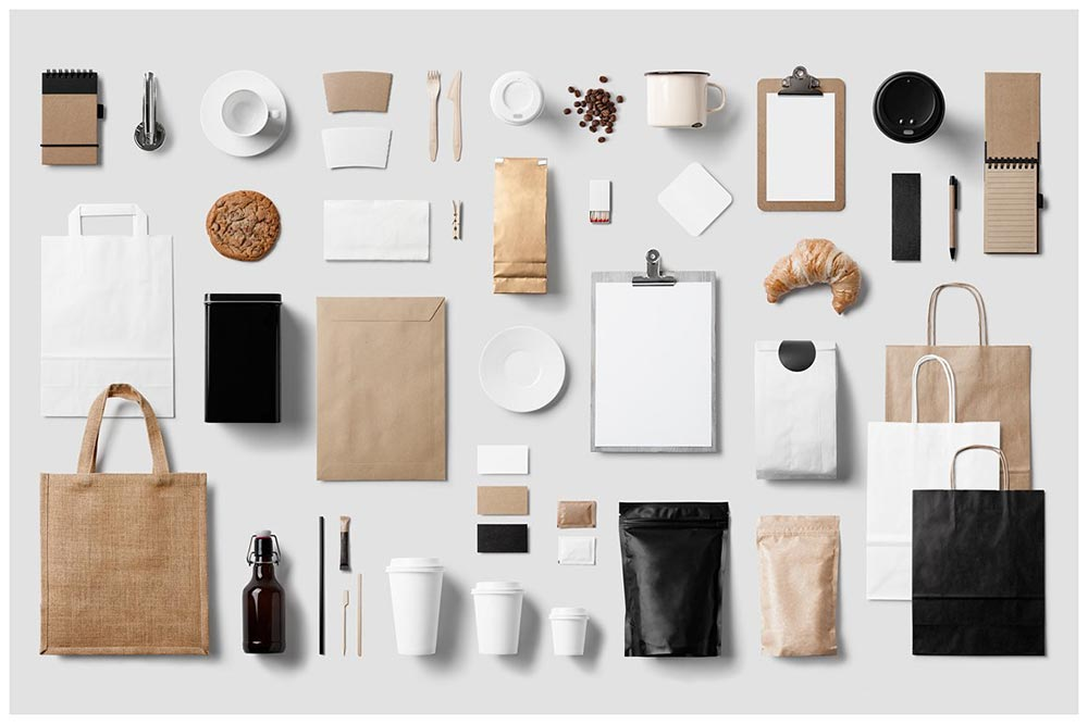 Coffee Stationery / Branding Mock-Up