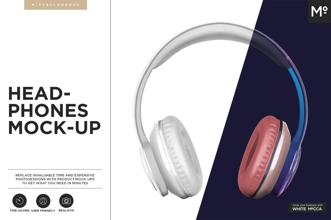Headphones Mock-up