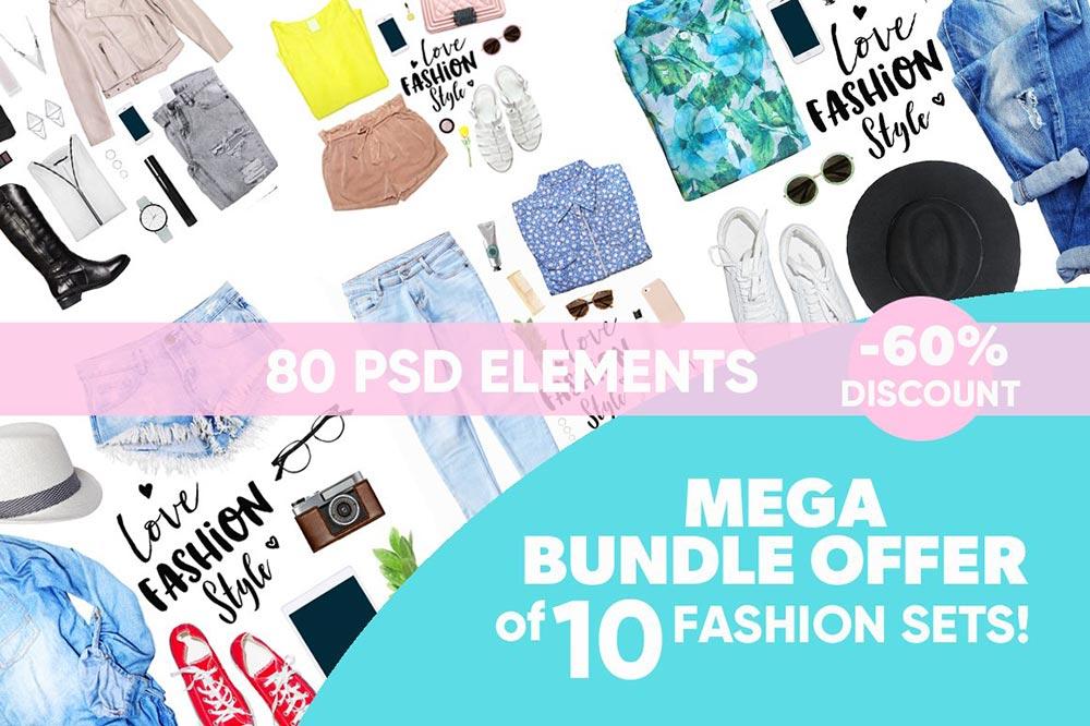 Dress Mockup Mega Bundle