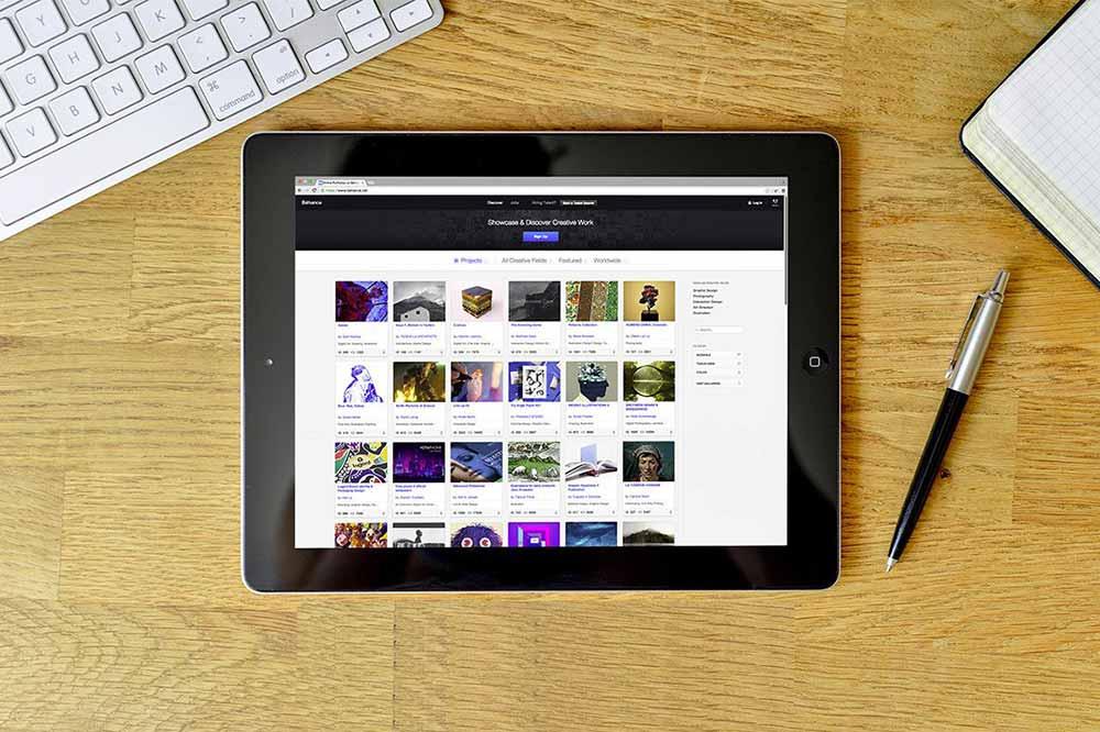 Tablet Mockup PSD Templates