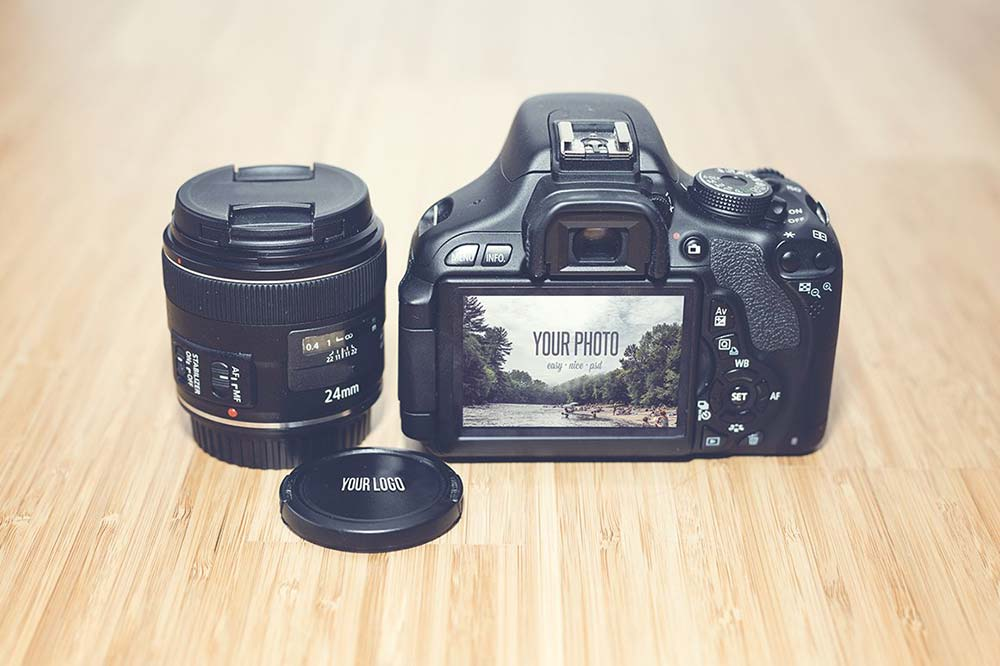 Realistic Camera Mock Up