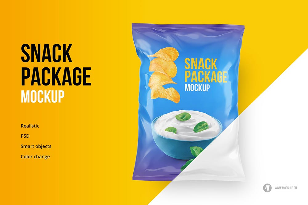Chips Pouch Mock-Up
