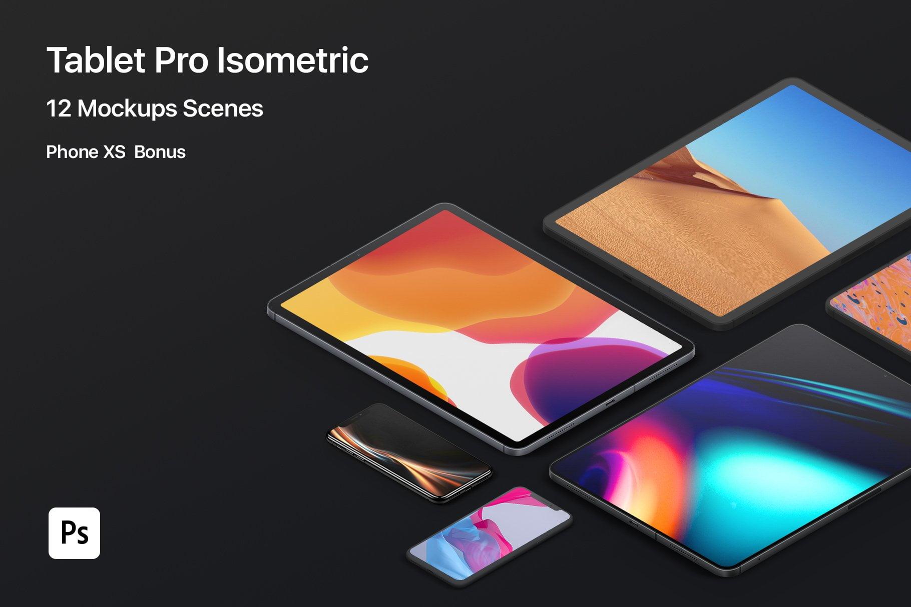 Tablet Pro Mockups