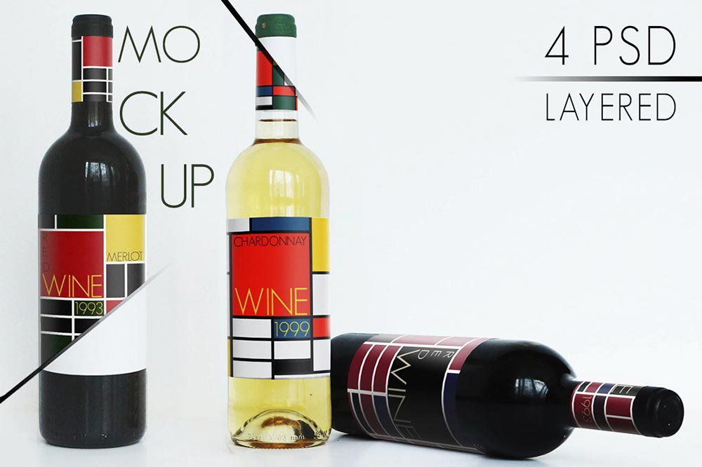 Wine Mockup Collection