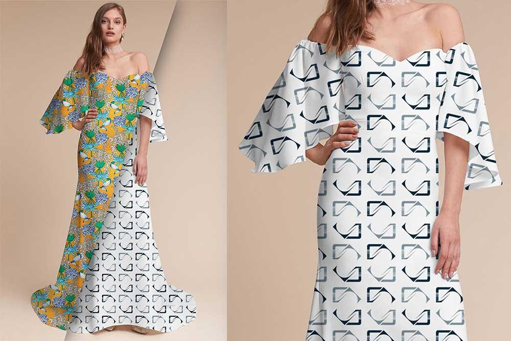 Dress Mockup PSD Templates