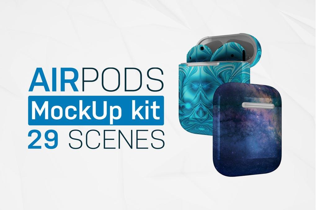 AirPods Mockup Kit
