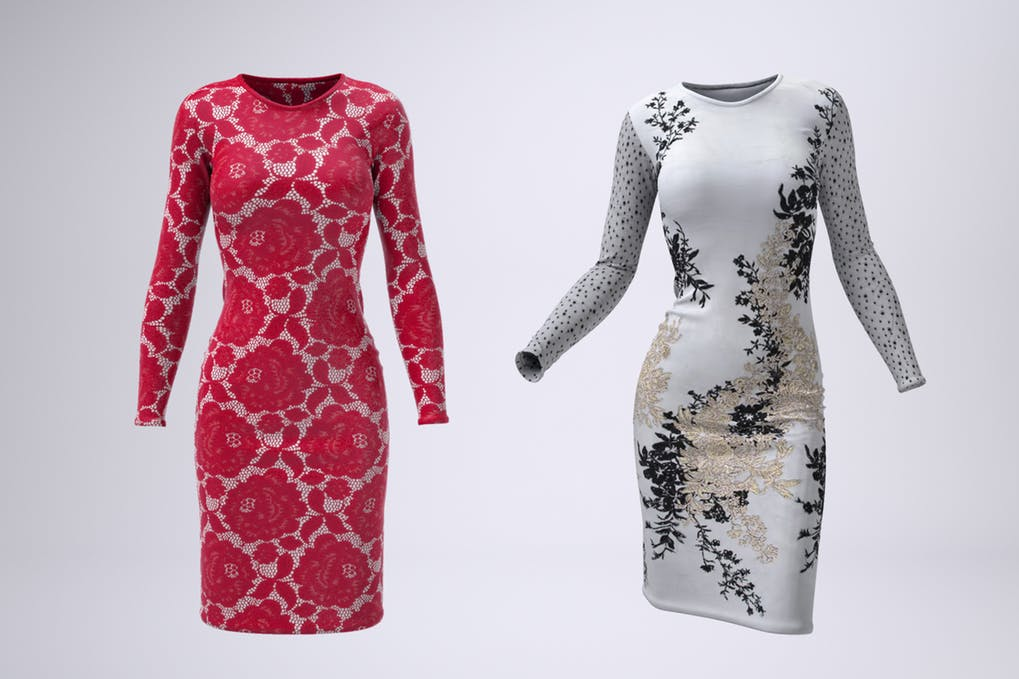 Body-Con Dress Mock-Up