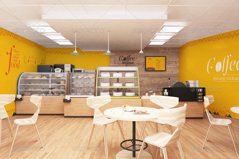 Coffee & Bakery Branding Mockups