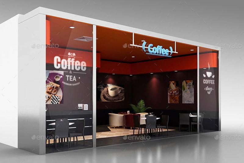 Coffee Shop Branding Mockups