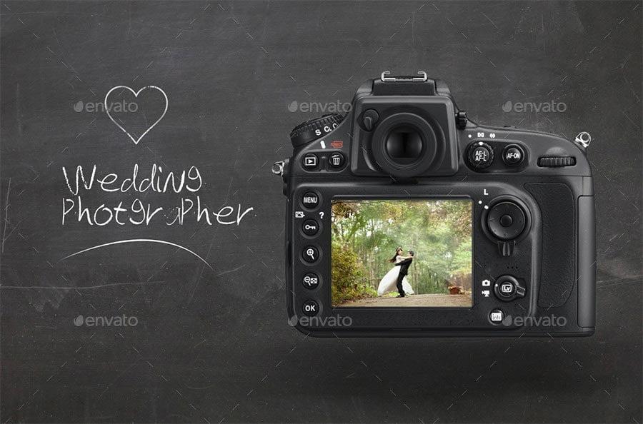 DSLR Camera Mock-ups