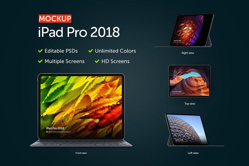 iPad 2018 Mockup