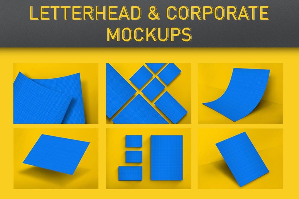 Letterhead & Corporate Mockups