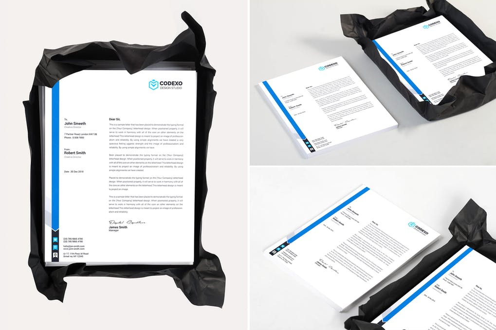 Letterhead Mock Up