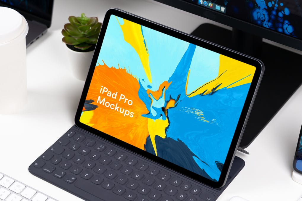Tablet Mockups Set