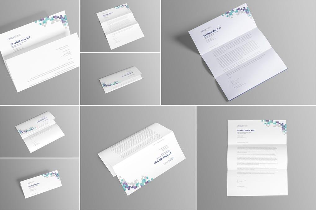 US Letter Paper Mockups