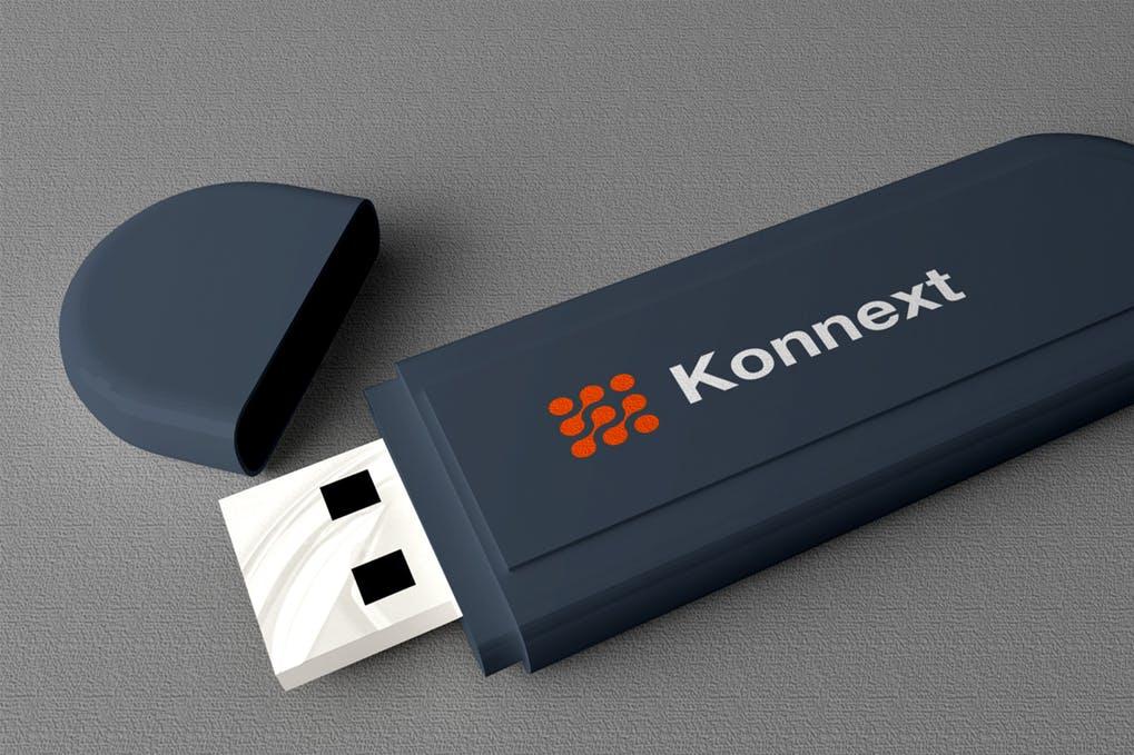 USB Flashdisk Mockup