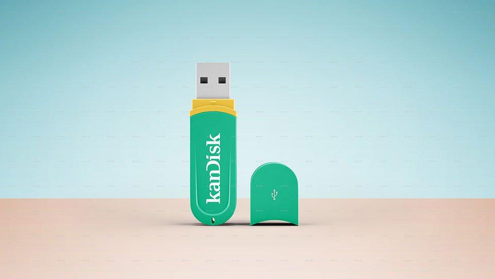 USB Pen Drive Mockup