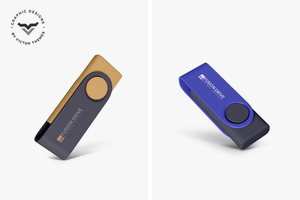 USB Pendrive Mockups