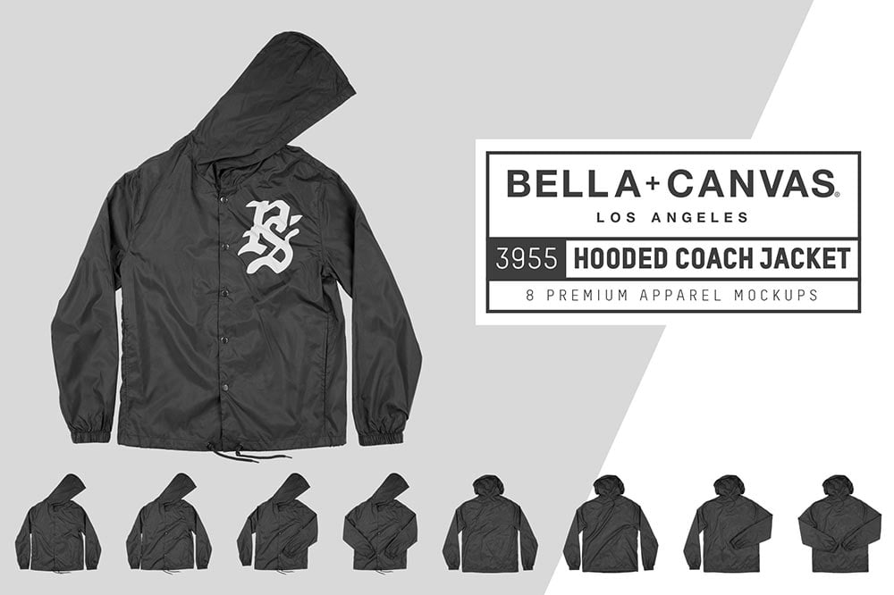 Bella Canvas 3955 Coach Jacket