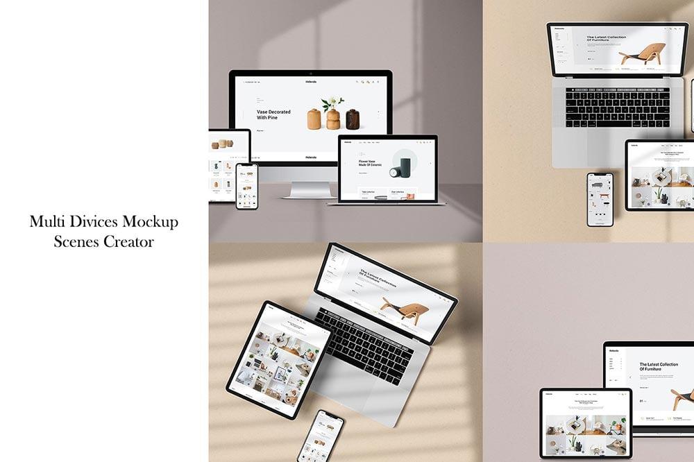 Multi Device Mockup - Scenes Creator