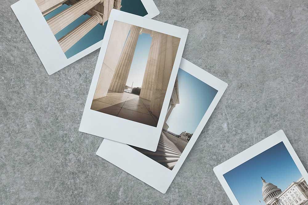 Polaroid PSD Mockup