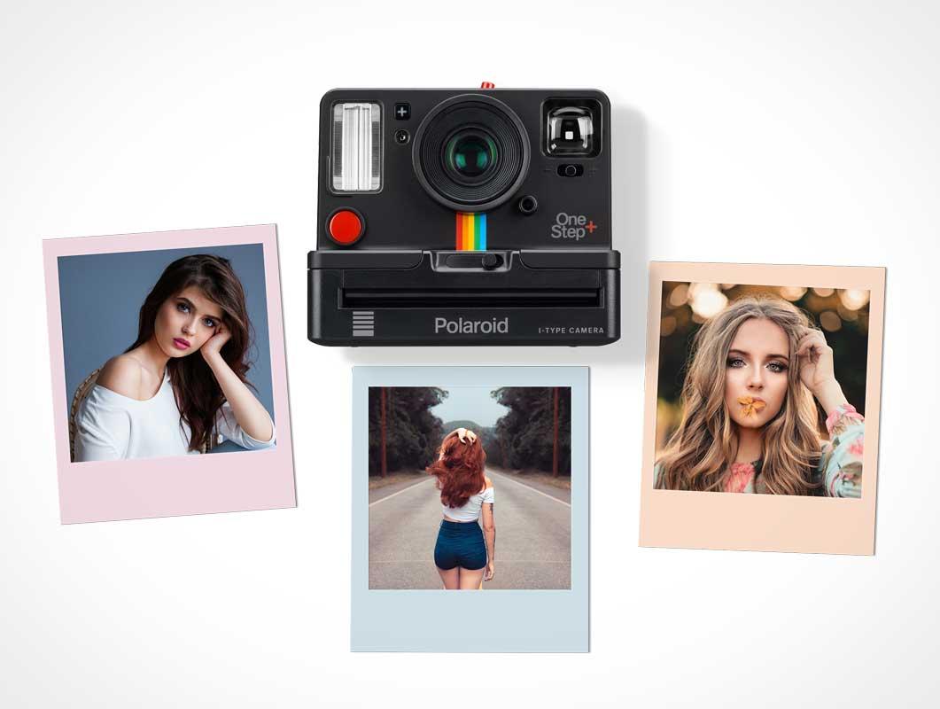 Polaroid Mockup PSD Templates