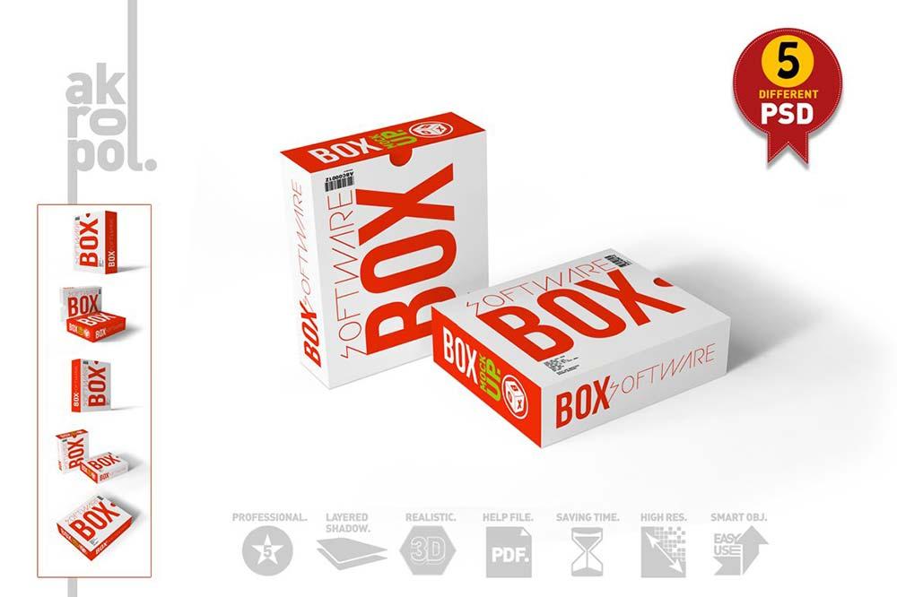 Software Box-Mock Up