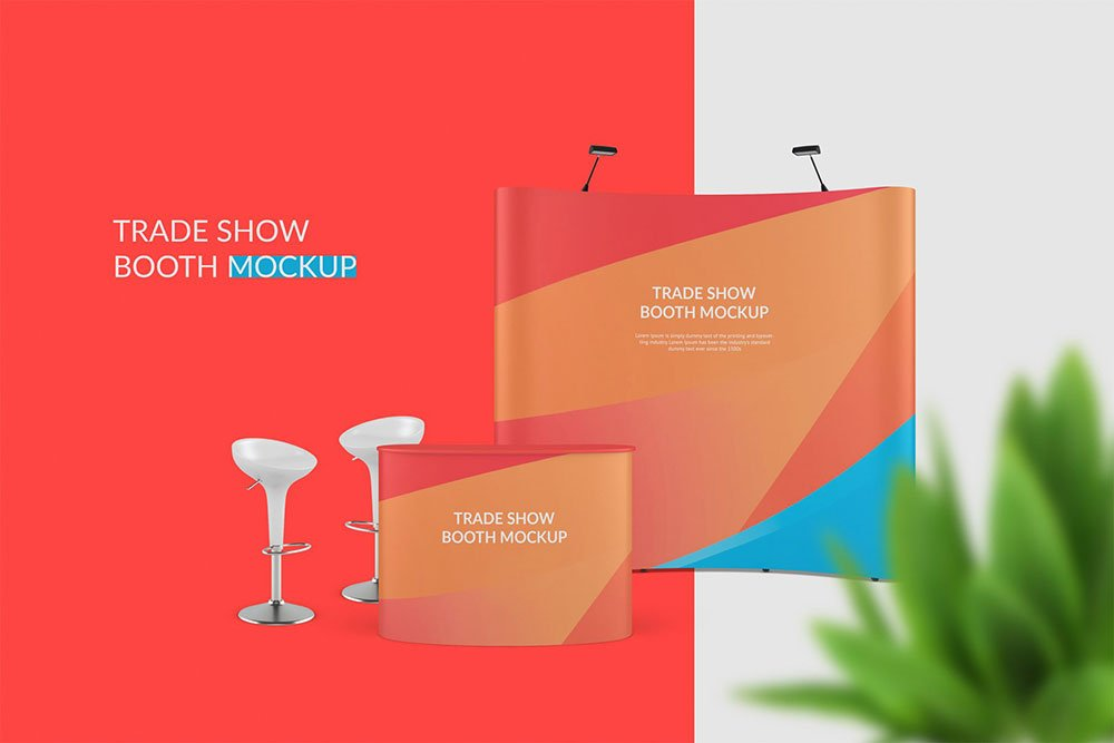 Booth Mockup PSD Templates