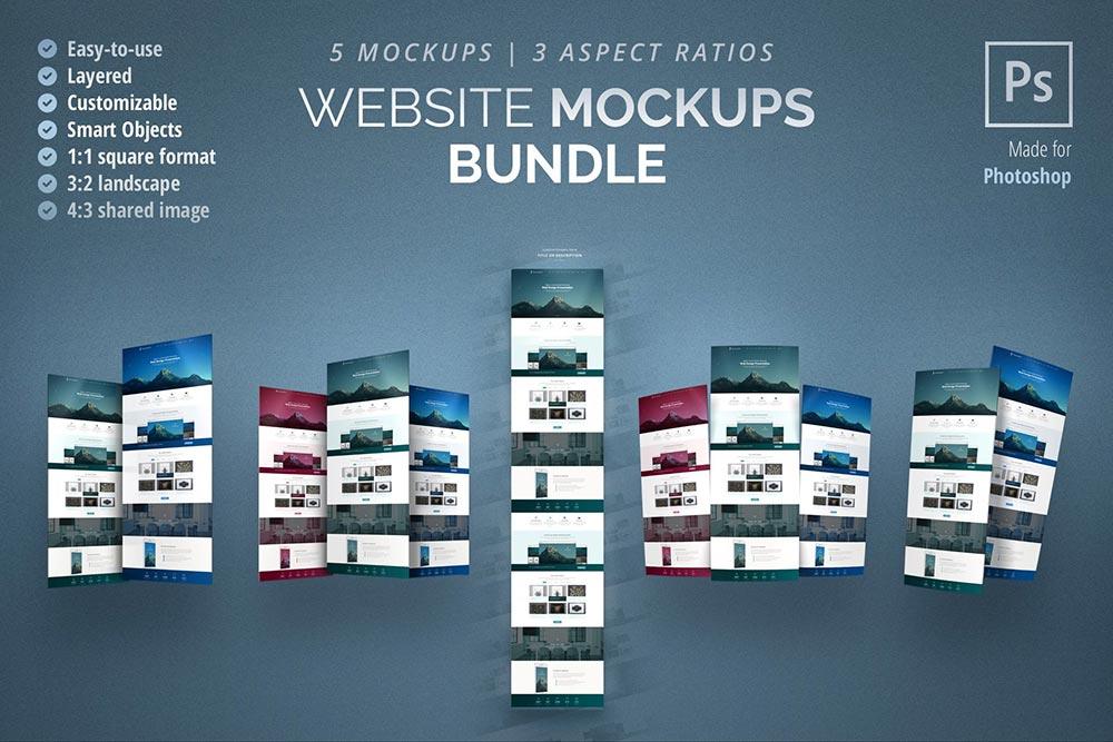 Website Mockups Bundle