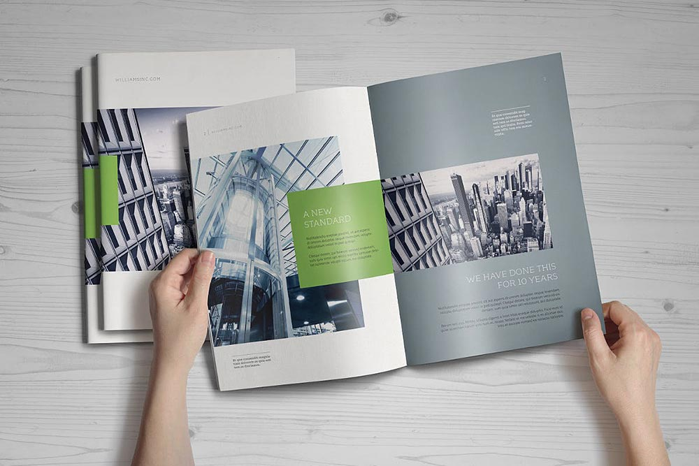 A4 Brochure / Catalog Mock-Up