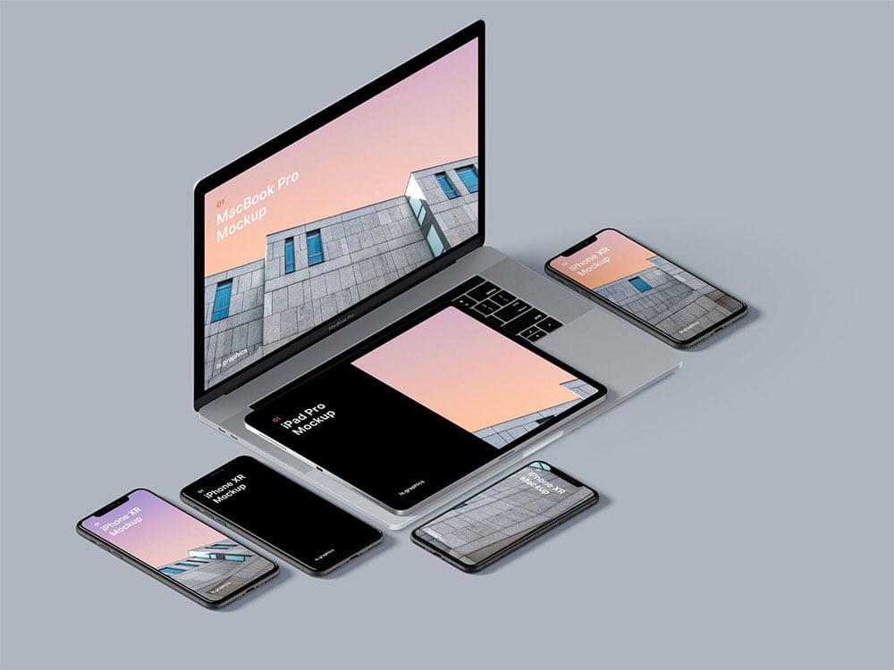 Device Mockup PSD Templates