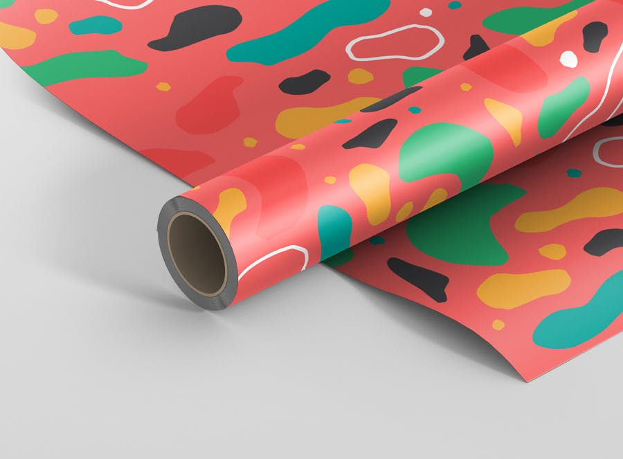 12 Great Wrapping Paper Mockup Psd Templates Mockuptree