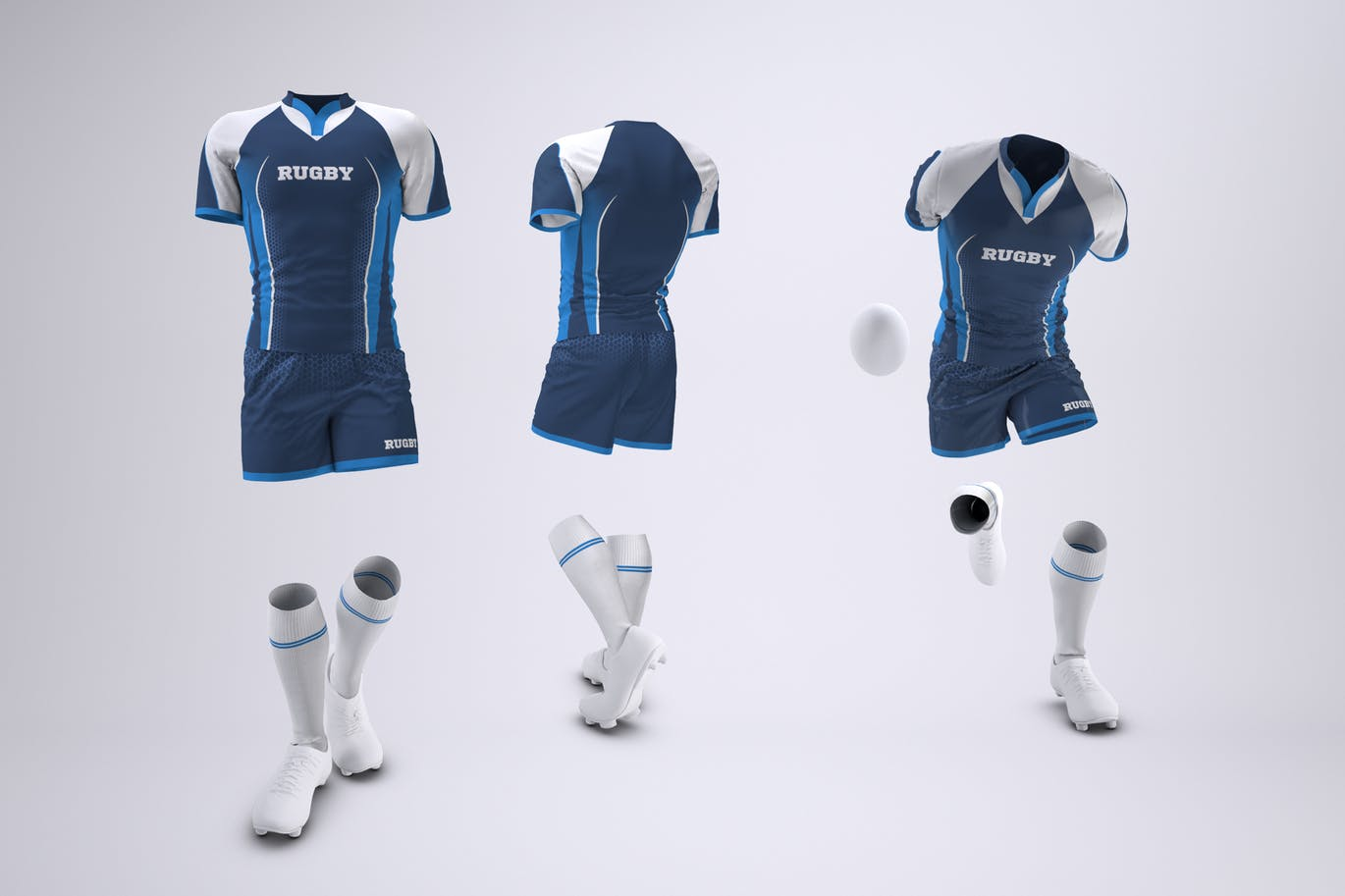 Rugby Team Uniform Mock-Up